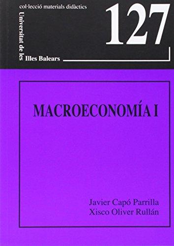 9788483840108: Macroeconomía I (Materials didàctics)