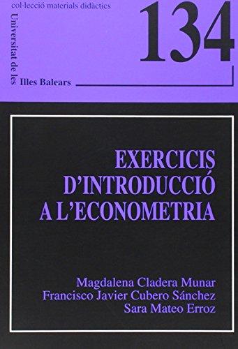 9788483840450: Exercicis d'introducció a l'econometria (Materials didàctics)