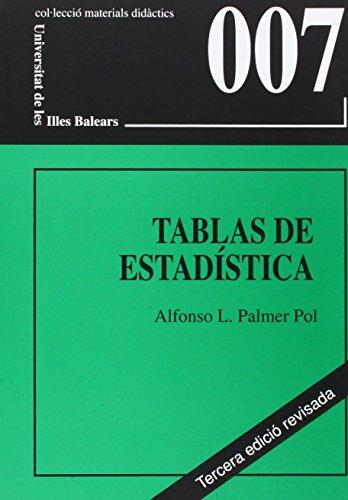 9788483841686: Tablas de Estadística
