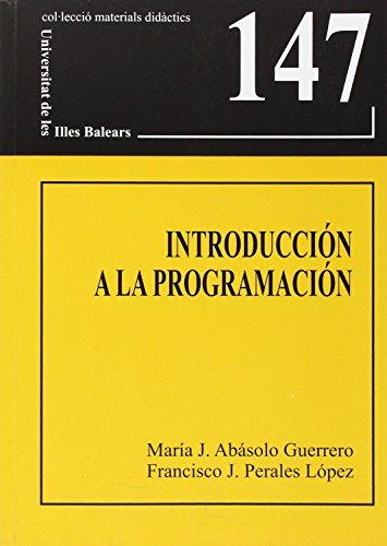9788483841709: Introducción a la programación (Materials didàctics)