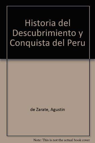9788483909799: Historia del Descubrimiento y Conquista del Peru (Colección clásicos peruanos) (Spanish Edition)