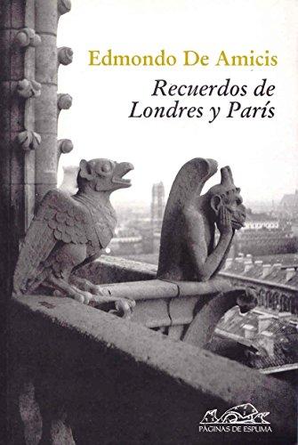 9788483930151: Recuerdos de Londres y París (Voces/Ensayo)