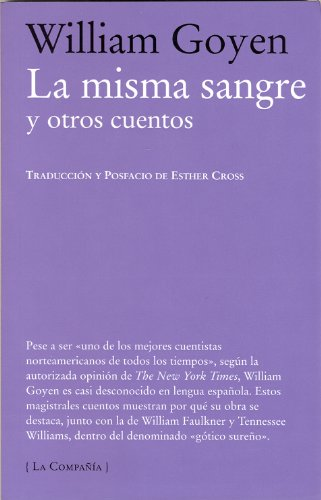 9788483930809: La misma sangre y otros cuentos / The Faces of Blood Kindred and Other Stories (La Compania) (Spanish Edition)