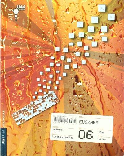 9788483942673: Euskara - LMH 6 - i.blai proiektua