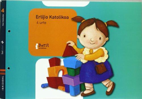 9788483944592: ERLIJIO KATOLIKOA 4 URTE BERIT