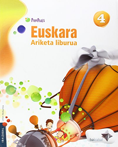 9788483947036: Euskara Lmh 4 ariketa liburua (Pixepolis) - 9788483947036