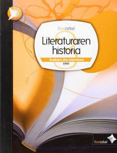 9788483947739: Literaturaren historia Dbh 3, ikaslearen materiala (i.bai.berri proiektua) - 9788483947739