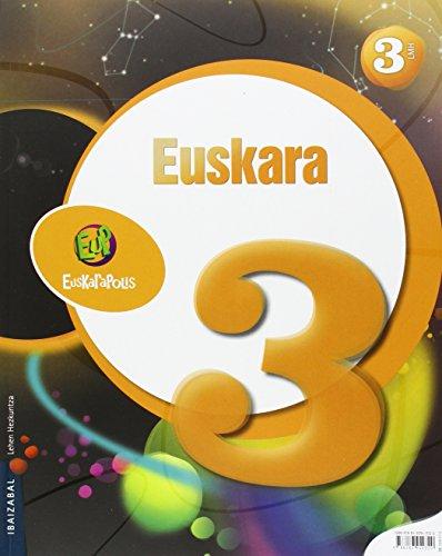 9788483949320: Euskara Lmh 3 (Euskarapolis) - 9788483949320