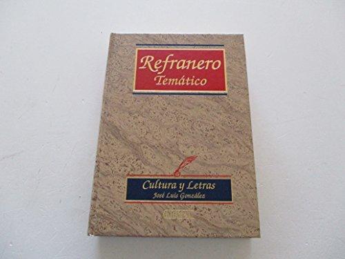 9788484033172: Refranero Tematico (Serie Ciencias Sociales) (Spanish Edition)
