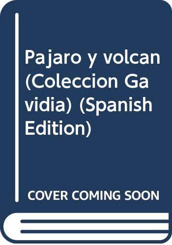 9788484051336: Pájaro y volcán (Colección Gavidia) (Spanish Edition)