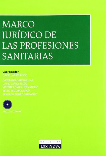 9788484062837: Marco jurídico de las profesiones sanitarias (Monografía)