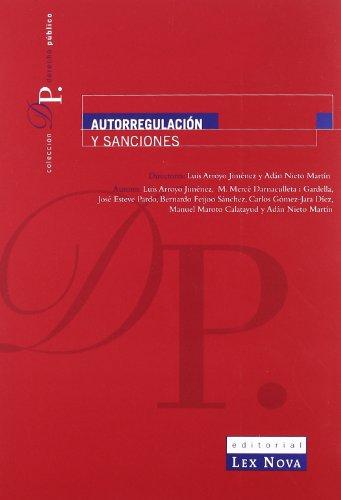 9788484068907: Autorregulación y sanciones.