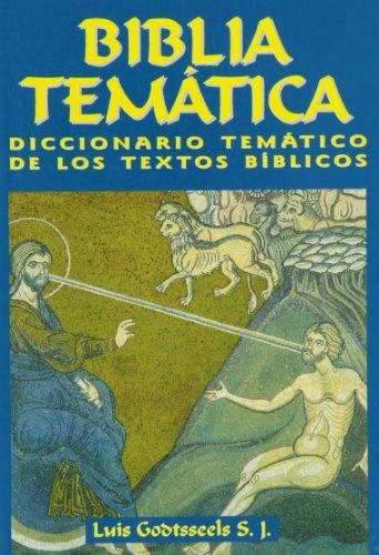 9788484077473: Biblia Tematica
