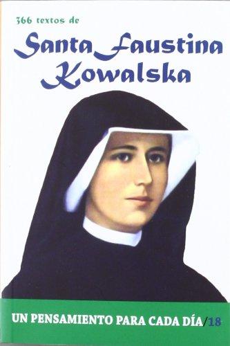 9788484079521: 366 Textos de Santa Faustina Kowalska (Un pensamiento para cada día)
