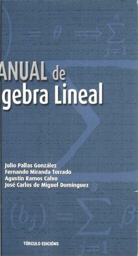 9788484082415: Manual de álgebra lineal