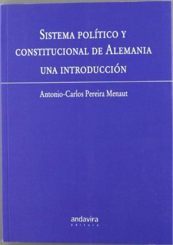 9788484082590: Sistema político y constitucional de alemania, una introducción