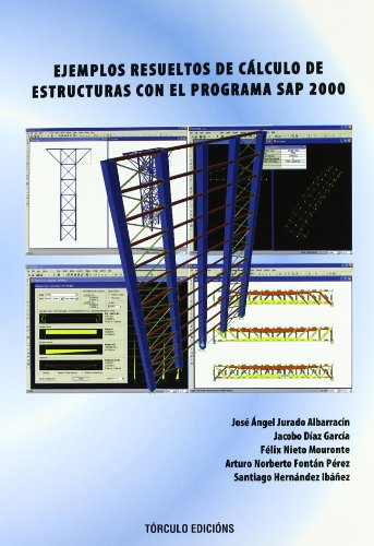 9788484084785: Ejemplos resueltos de cálculo de estructuras con el programa sap 2000