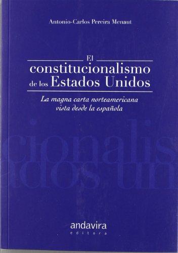 9788484086253: CONSTITUCIONALISMO DE LOS ESTADOS UNIDOS