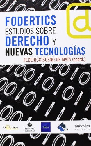 9788484086925: Fodertics. Estudios sobre derecho y nuevas tecnologías