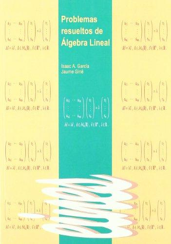 9788484099741: Problemas Resueltos De Álgebra Lineal (Eines)
