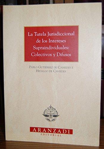 9788484104124: La tutela jurisdiccional de los intereses supraindividuales: Colectivos y difusos (Colección Monografías Aranzadi) (Spanish Edition)