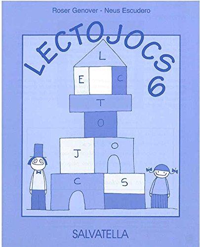 Lectojocs 6, 2 Educació Primària (Book): Roser Genover i