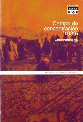 9788484154792: Campo de Concentracion (1939) (Spanish Edition)