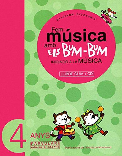 9788484156451: Fem música amb els Bum-Bum. Educació Infantil. Parvulari 4 anys. Mestre