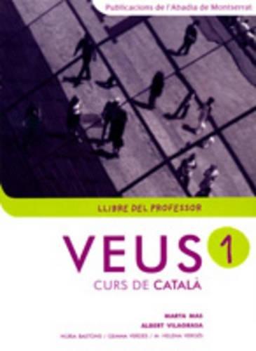 9788484157441: Veus. Curs de català. Llibre del professor. Nivell 1