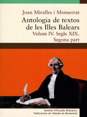 Antologia de textos de les Illes Balears.: Miralles i Montserrat,