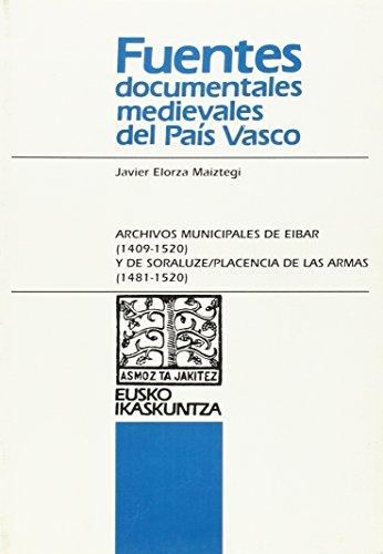 Documentación medieval de los archivos municipales de: Elorza Maiztegui, Javier