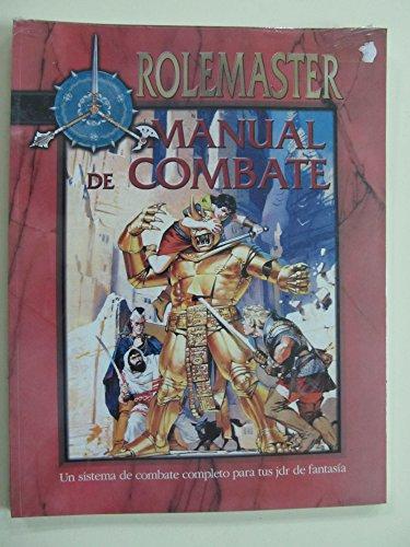 9788484210849: ROLEMASTER MANUAL DE COMBATE