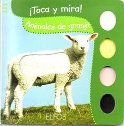 9788484233244: Toca y Mira. Animales de la granja