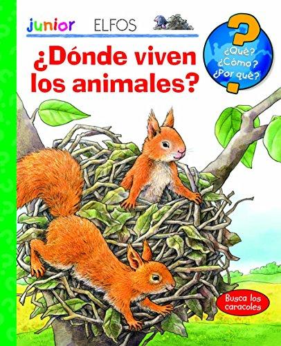 9788484233992: ¿Qué? Junior. ¿Dónde viven los animales?