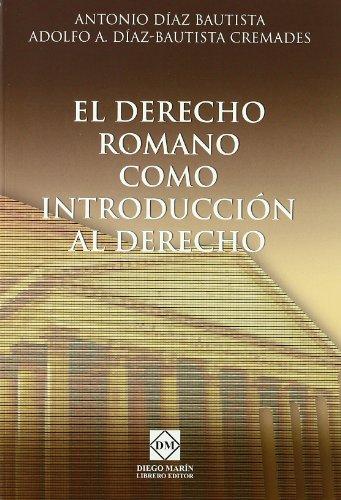 9788484258384: El derecho romano como introduccion al derecho