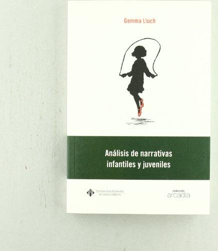 9788484272588: Análisis de narrativas infantiles y juveniles (ARCADIA) - 9788484272588