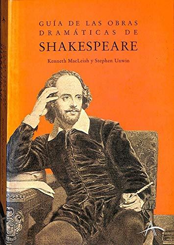 9788484280255: Guia de las obras dramaticas de shakesperae