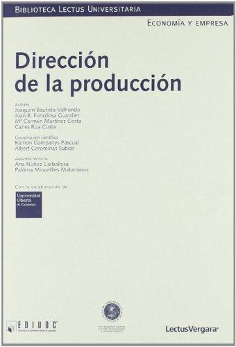 9788484291343: Dirección de la producción