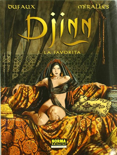 9788484315841: DJINN 01: LA FAVORITA (EXTRA COLOR)
