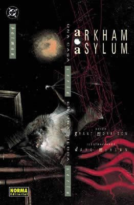 9788484319528: Batman: Arkham Asylum, una casa seria en una tierra seria