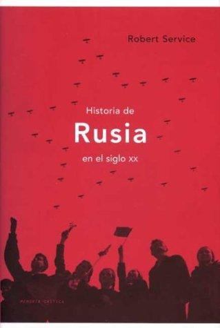 9788484321316: Historia de Rusia en el siglo XX (Memoria (critica))