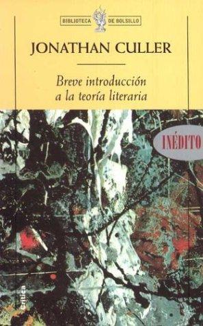 9788484321330: Breve introducción a la teoría literaria (Biblioteca de Bolsillo)