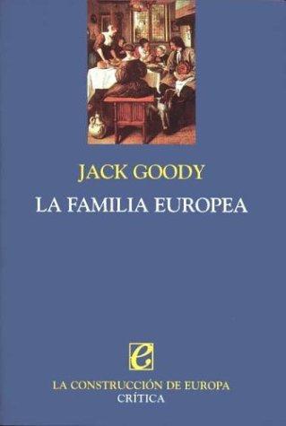 9788484321507: La familia europea
