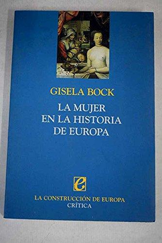 9788484321941: La mujer en la historia de Europa