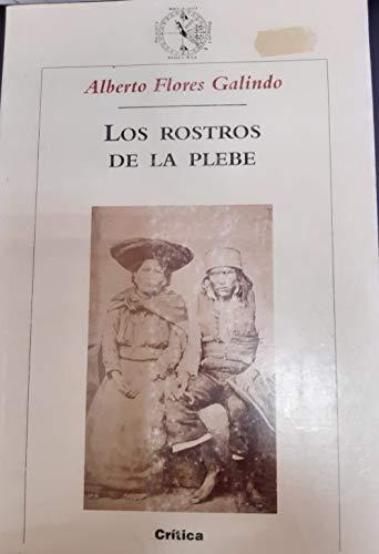 9788484322894: Los Rostros de La Plebe (Spanish Edition)