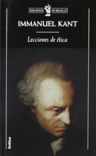 9788484322955: Lecciones de ética (Biblioteca de Bolsillo)