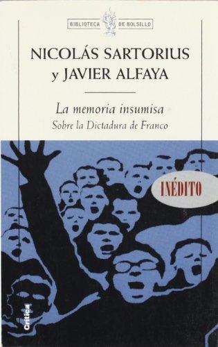 9788484323181: La memoria insumisa (Biblioteca de Bolsillo)