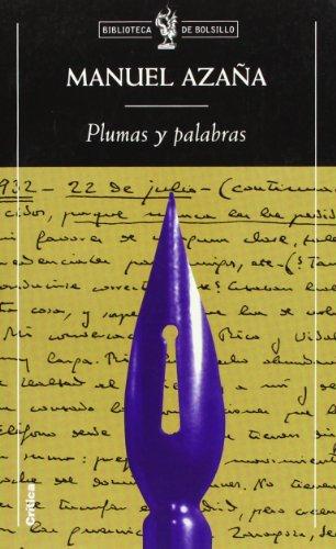 9788484323556: Plumas y palabras (Biblioteca de Bolsillo)