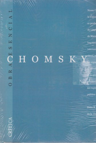 9788484323785: Chomsky esencial (Obra Esencial)
