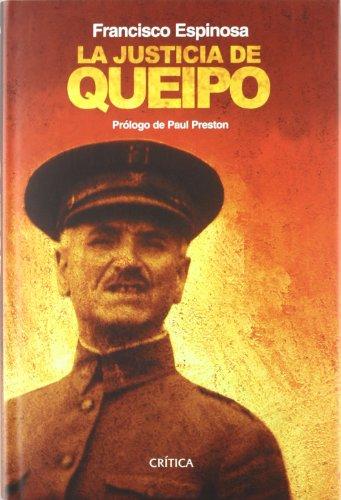 9788484326915: La justicia de Queipo (Contrastes)
